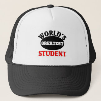 World's Greatest student Trucker Hat