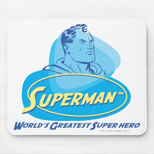 World's Greatest Super Hero Mouse Pad