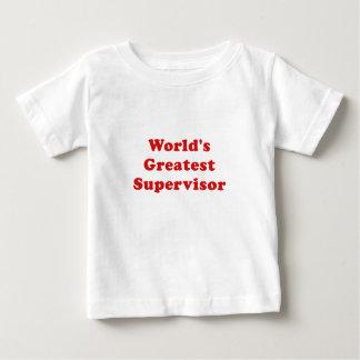 Worlds Greatest Supervisor Baby T-Shirt