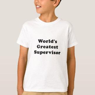 Worlds Greatest Supervisor T-Shirt