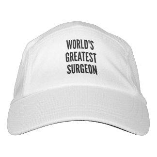 Worlds Greatest Surgeon Headsweats Hat