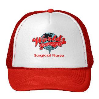 World's Greatest Surgical Nurse Trucker Hat