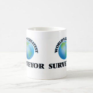 World's Greatest Surveyor Classic White Coffee Mug