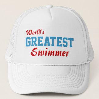 World's Greatest Swimmer Trucker Hat