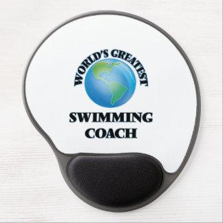 World's Greatest Swimming Coach Gel Mousepads