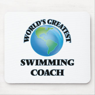 World's Greatest Swimming Coach Mouse Pads