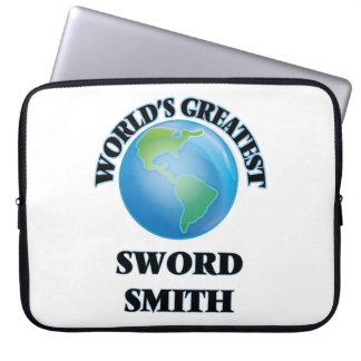 World's Greatest Sword Smith Laptop Sleeves
