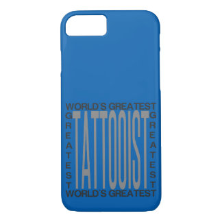 Worlds Greatest Tattooist iPhone 8/7 Case