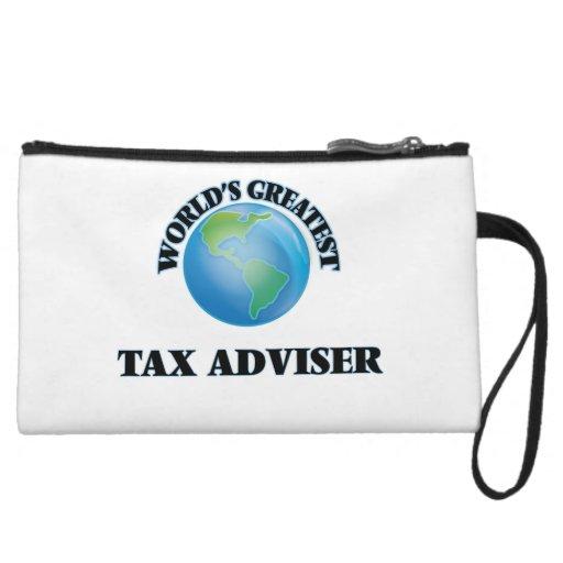 World's Greatest Tax Adviser Wristlet Clutch