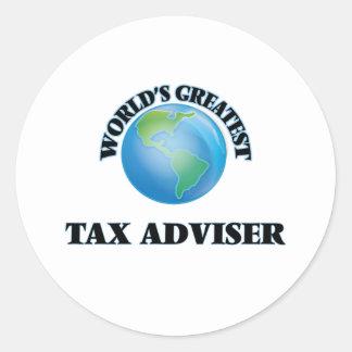 World's Greatest Tax Adviser Sticker