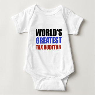 World's greatest TAX AUDITOR Baby Bodysuit