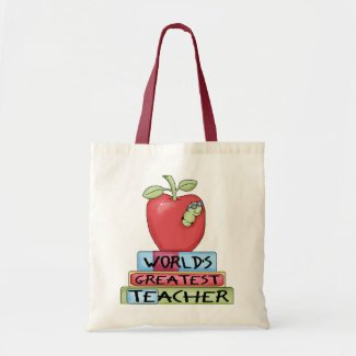World's Greatest Teacher bag