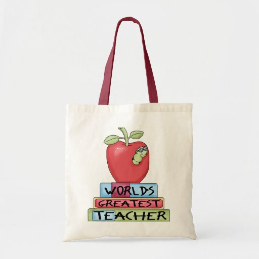 World's Greatest Teacher Budget Tote Bag
