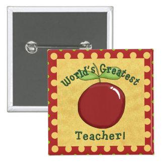 World's Greatest Teacher Button