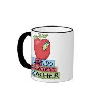 World's Greatest Teacher Coffee Mug mug