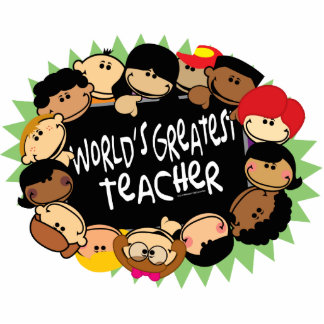 World's Greatest Teacher Cutout