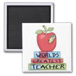 World's Greatest Teacher Magnets