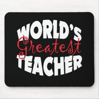 World's Greatest Teacher Mouse Pad