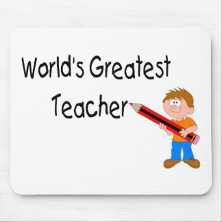 Worlds Greatest Teacher Mouse Pad