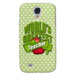 Worlds Greatest Teacher Samsung Galaxy S4 Cover