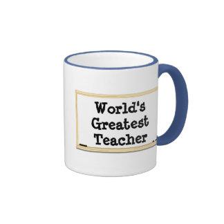 World's Greatest Teacher Whiteboard Mug