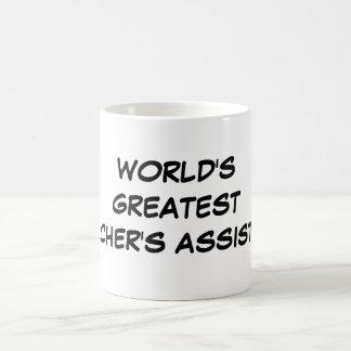 """""""World's Greatest Teacher's Assistant"""" Mug"""