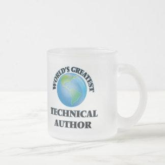 World's Greatest Technical Author Coffee Mugs