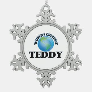 World's Greatest Teddy Ornament