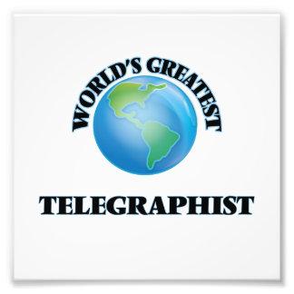 World's Greatest Telegraphist Photo Print