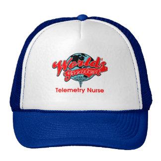 World's Greatest Telemetry Nurse Trucker Hat