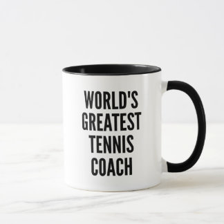 Worlds Greatest Tennis Coach Mug