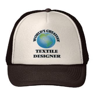 World's Greatest Textile Designer Trucker Hats