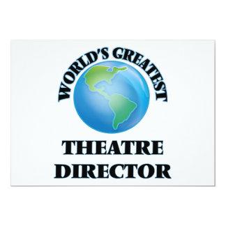 World's Greatest Theatre Director Custom Invite