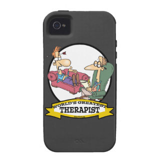WORLDS GREATEST THERAPIST MEN CARTOON iPhone 4 COVERS