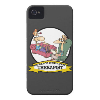 WORLDS GREATEST THERAPIST MEN CARTOON BLACKBERRY BOLD COVERS
