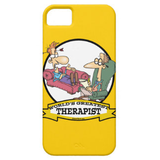 WORLDS GREATEST THERAPIST MEN CARTOON iPhone 5 COVER