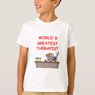 world's greatest therapist T-Shirt