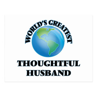 World's Greatest Thoughtful Husband Postcards