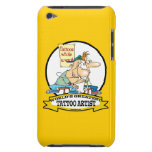 WORLDS GREATEST TOO ARTIST CARTOON iPod TOUCH COVER