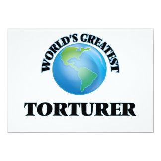 World's Greatest Torturer Custom Invites