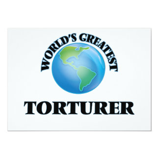 World's Greatest Torturer Announcement