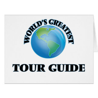 World's Greatest Tour Guide Card