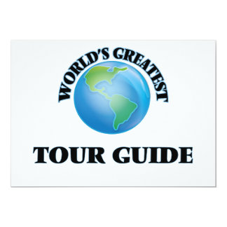 World's Greatest Tour Guide Personalized Announcements