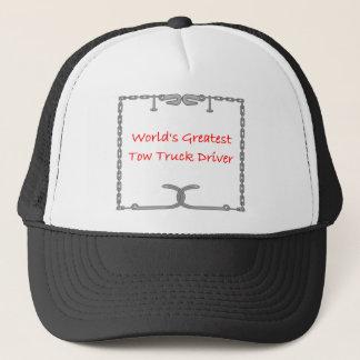 Worlds Greatest Tow Truck Driver Trucker Hat