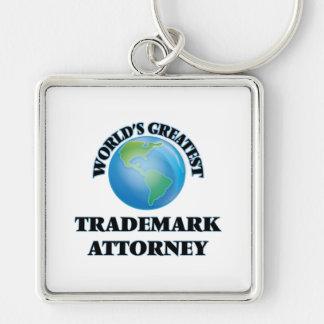 World's Greatest Trademark Attorney Keychains