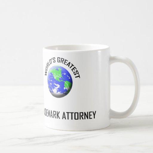 World's Greatest Trademark Attorney Mug