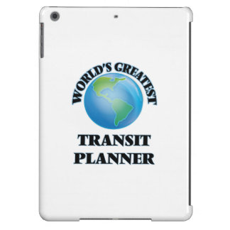 World's Greatest Transit Planner iPad Air Cases
