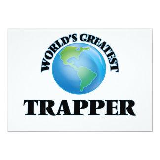 World's Greatest Trapper Custom Invitations