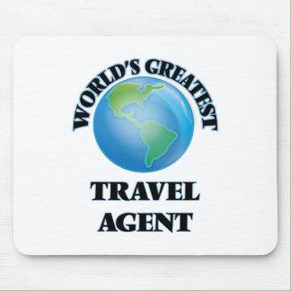 World's Greatest Travel Agent Mouse Pad