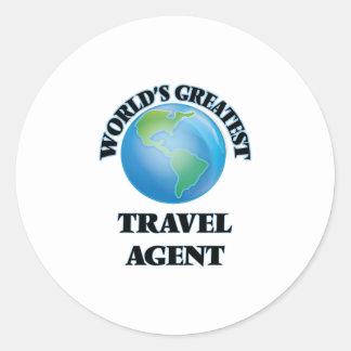 World's Greatest Travel Agent Sticker